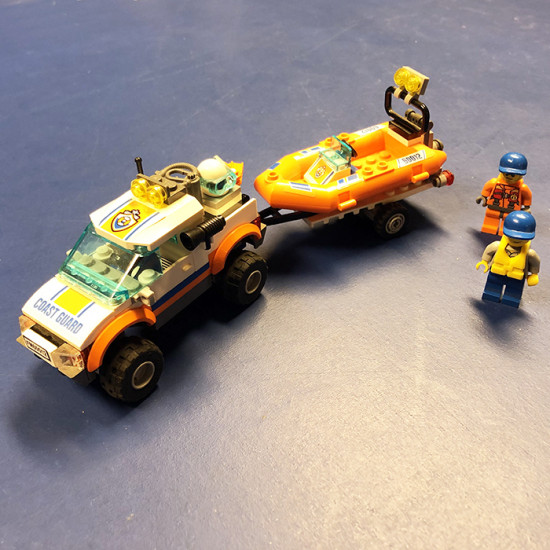 4X4 & DIVING BOAT