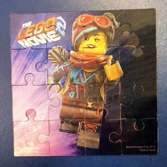Lego Movie - Hologram