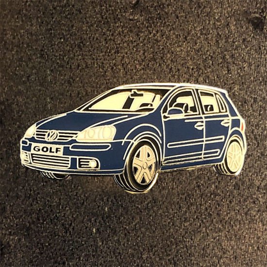 Volkswagen golf blue